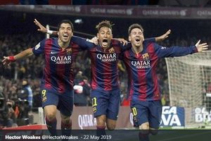 Tak Ada Pesepak Bola yang Lebih Hebat dari Neymar Kecuali Lionel Messi