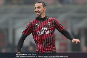 Kabar Baik Buat Pendukung AC Milan, Kondisi Zlatan Ibrahimovic Membaik