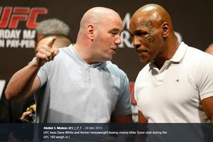 Demi Saksikan Mike Tyson, Presiden UFC akan Lakukan Segala Cara