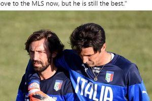 Dampak Kedatangan Andrea Pirlo ke Juventus, Gianluigi Buffon Lontarkan Pertanyaan Menggelitik