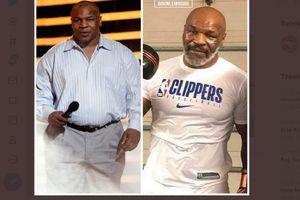 Rahasia Mike Tyson Turunkan Berat Badan 31 Kg di Usia Setengah Abad