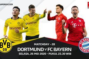 Link Streaming Borussia Dortmund Vs Bayern Muenchen di Pekan Ke-28 Liga Jerman