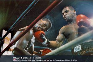 Pengakuan Anak Legenda Tinju Usai Dipukul KO Mike Tyson dalam 30 Detik