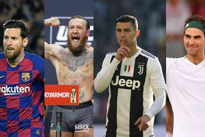 Forbes Rilis 20 Atlet dengan Gaji Tertinggi, Ronaldo dan Messi Kalah Dari Sosok Ini
