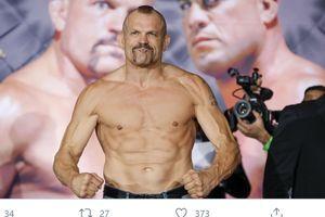 Wajah Preman, Hati Damai, Legenda UFC Chuck Liddell Tenangkan Massa Demo George Floyd
