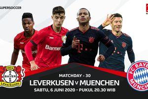 Link Streaming Bayer Leverkusen vs Bayern Muenchen di Pekan 30 Liga Jerman