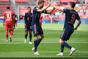 6 Fakta Hebat Leverkusen vs Muenchen, Assist ke-20 Mueller dan Gol ke-44 Lewandowski