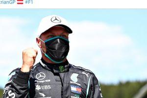 Valtteri Bottas Lolos dari Sanksi Usai Langgar Aturan PSBB F1