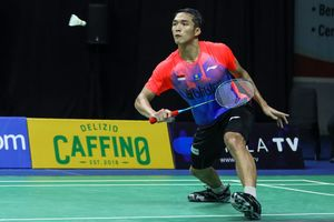 Mundur dari PBSI Home Tournament, Kans Jonatan Christie Melawan Anthony Ginting di Final Tertutup
