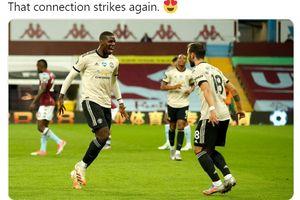 Manchester United Geger, Gembok Gol Paul Pogba Dibuka Bruno Fernandes