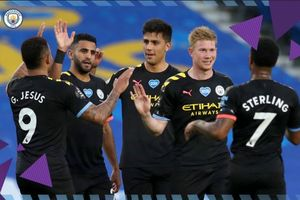 Hasil Liga Inggris - Raheem Sterling Cetak Hat-Trick, Manchester City Pesta Gol