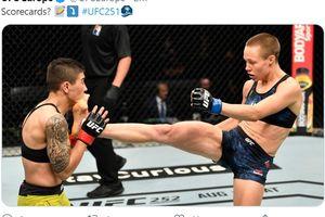 Hasil UFC 251 - Rose Namajunas Balas Kekalahan dari Jessica Andrade