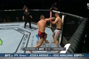 UFC 251 - Lewat Gerakan Super! Debutan ini Bikin Lawannya KO Tragis