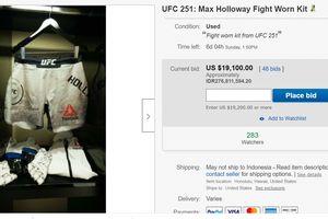 Max Holloway Lelang Perlengkapan di UFC 251 untuk Bantu Pengangguran