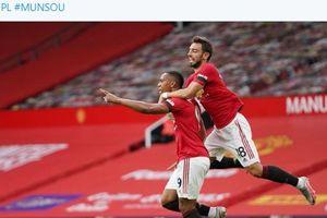 Hasil Liga Inggris - Anthony Martial Ikuti 9 Legenda, Man United Hancur Menit 96