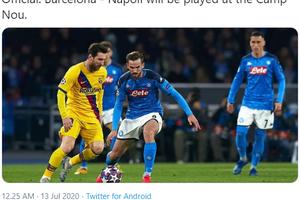Napoli Disebut Memiliki Kemampuan untuk Menyulitkan Barcelona