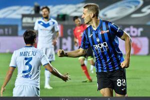 Hasil Liga Italia - Pemain Buangan Chelsea Cetak Hat-trick, Atalanta Lumat Brescia