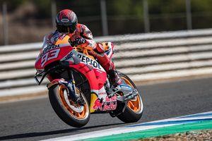 Jalani Sesi Tes Uji Coba Pertama MotoGP Spanyol 2020, Marc Marquez Mengaku Sedikit Alami Masalah