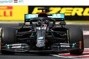 Hasil P2 F1 70th Anniversary GP - Hamilton Tercepat, Vettel Alami Gagal Mesin