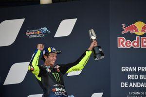 Valentino Rossi Hapus Keraguan Lewat Raihan Podium di MotoGP Andalusia 2020