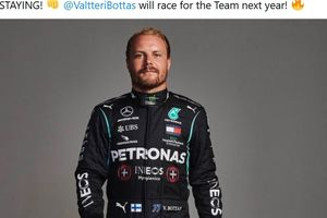 Hasil Kualifikasi F1 70th Anniversary GP -  Valtteri Bottas Jadi Pole Sitter