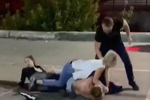 VIDEO! Atlet Tarung ini Bunuh Pria Tidak Bersalah dengan Brutal