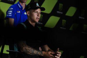 MotoGP Republik Ceska 2020 - Fabio Quartararo Akui Absennya Marc Marquez Tak Berdampak Apapun Padanya