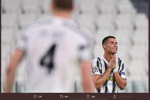 Juventus Gugur di Liga Champions, Lyon Memang Terkutuk buat Cristiano Ronaldo