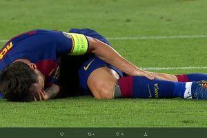 Cedera, Lionel Messi Terancam Absen Laga Barcelona Vs Muenchen di Liga Champions
