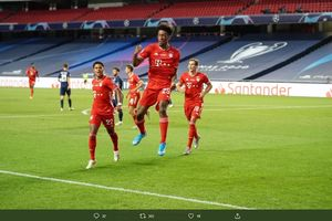 Starting XI Bayern Muenchen vs Atletico - Pahlawan Final 2019-2020 Gantikan Robben-Ribery 2.0