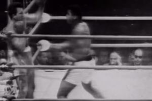Video Legendaris Kala Muhammad Ali Lancarkan 12 Pukulan Kilat