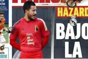 Setelah Gareth Bale, Eden Hazard Kini Jadi Bulan-bulanan Fans Madrid dan Media Spanyol
