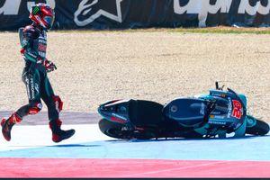 MotoGP Emilia Romagna 2020 - Fabio Quartararo Mulai Ketakutan dengan Ampuhnya Mesin Suzuki