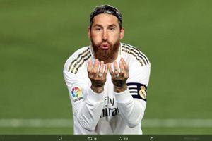 Ukir Sejarah, Sergio Ramos Rajin Bikin Gol di Liga Spanyol 17 Musim Beruntun