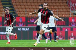 Keangkuhan Zlatan Ibrahimovic usai Bawa AC Milan Raih Kemenangan Perdana di Liga Italia