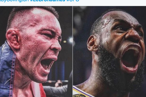 Bintang UFC Ejek LeBron James Tak Akan Menang Jika Bertarung Dengannya