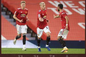 Brighton vs Man United - Saatnya Pogba, Van de Beek, dan Bruno Jadi Starter?