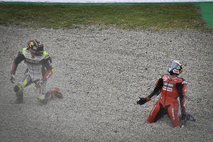 Zarco Sedih Usai Jatuhkan Dovizioso pada MotoGP Catalunya 2020