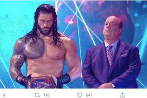 Pertama Kali Tampil Telanjang Dada, Roman Reigns Kian Sah Jadi Penjahat di WWE