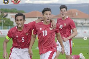 Link Live Streaming Timnas U-19 Indonesia Vs Hadjuk Split, Klub Papan Atas Jadi Lawan Pengganti