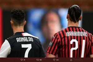Persamaan Cristiano Ronaldo dan Ibrahimovic di Mata Legenda AC Milan