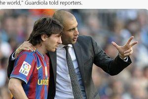Misi Besar Calon Presiden Barcelona, Ingin Wujudkan Reuni Lionel Messi-Pep Guardiola!