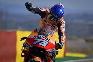 MotoGP 2020 - Alex Marquez Korbankan Hal Ini untuk Podium Kedua