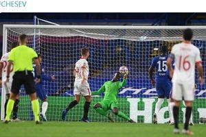Chelsea Vs Sevilla - Edouard Mendy Lakukan Tepisan Memukau, The Blues Selamat