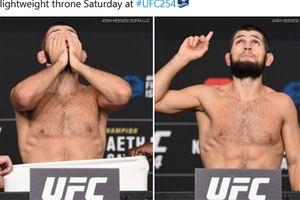 UFC 254 - Fakta di Balik Kemenangan, Khabib Sempat Patah Kaki