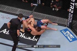 Triangle Choke, Jurus Awal dan Akhir Khabib Nurmagomedov di MMA