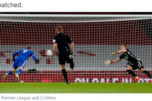 Jadi Aktor Kemenangan Leicester City atas Arsenal, Jamie Vardy Kini Tempel Wayne Rooney