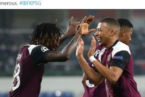 Hasil Liga Champions - Bomber Muda Paris Saint-Germain Kangkangi Pencapaian Legenda Juventus