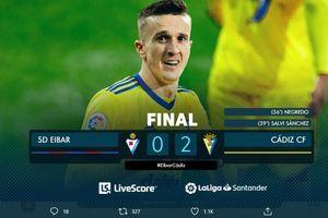 Hasil Liga Spanyol - Menang Terus di Kandang Lawan, Cadiz Naik ke Posisi 2