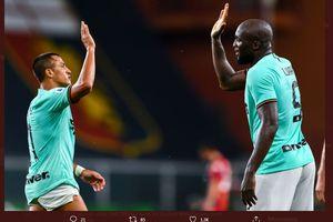 Susunan Pemain Sassuolo Vs Inter Milan - Istirahatkan Lautaro, Conte Duetkan Lukaku dengan Sanchez